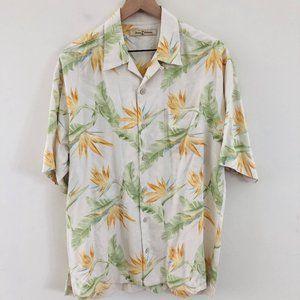 Tommy Bahama Tropical Hawaiian Silk Shirt
